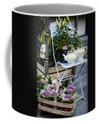 Teapots And Flowers Coffee Mug