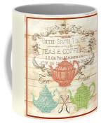 Teas And Coffees Sign Coffee Mug
