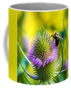 Teasel And Bee Coffee Mug