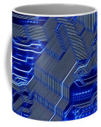 Technology Abstract Coffee Mug