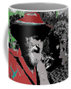 Ted  Degrazia  Singer Sammi Smith  Dick Frontain Photo Gallery In The Sun Tucson Arizona C.1977-2013 Coffee Mug