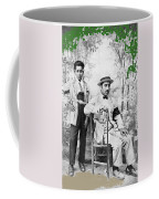 Ted Degrazia With  Uncle  Gregorio Circa 1920's-2013 Coffee Mug