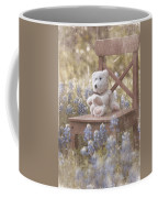 Teddy Bear And Texas Bluebonnets Coffee Mug