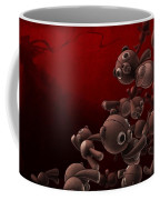 Teddy Bears Crowd Coffee Mug by Gianfranco Weiss