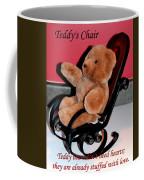 Teddy's Chair - Toy - Children Coffee Mug by Barbara Griffin