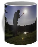 Teeing Off Coffee Mug