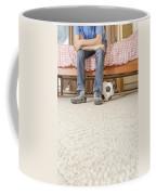 Teen Boy In Bedroom Coffee Mug