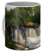 Teeter Totter Log Coffee Mug