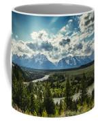 Teewinot And The Snake Coffee Mug