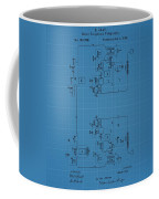 Telegraph Blueprint Patent Coffee Mug