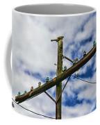 Telegraph Pole - Yesterdays Technology Coffee Mug