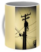 Telephone Pole 2 Coffee Mug