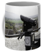 Telescope Near The Entrance Of Stirling Castle Coffee Mug