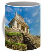 Temple And Blue Sky Coffee Mug