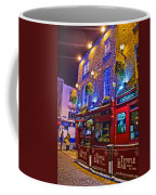 The Temple Bar Pub Dublin Ireland Coffee Mug