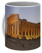 Temple Of Concordia In The Valley Of Coffee Mug
