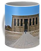 Temple Of Hathor Near Dendera-egypt Coffee Mug by Ruth Hager