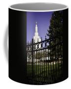 Temple Of Idaho Falls Coffee Mug