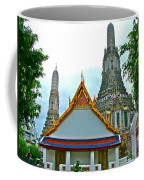 Temple Of The Dawn-wat Arun In Bangkok-thailand Coffee Mug