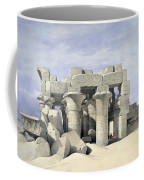Temple On Nile Coffee Mug