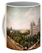 Temple Square Salt Lake City 1899 Coffee Mug