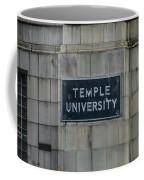 Temple U Coffee Mug