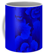 Ten Minute Floral In Blue 122612 Coffee Mug