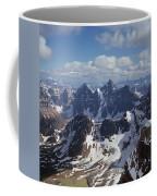 T-703502-ten Peaks From Summit Of Mt. Lefroy Coffee Mug