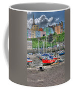 Tenby Harbour In Summer 4 Coffee Mug