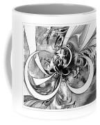 Tendrils In Pencil 03 Coffee Mug