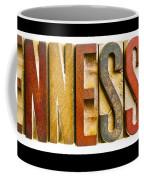 Tennessee Antique Letterpress Printing Blocks Coffee Mug
