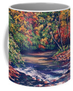 Tennessee Stream In The Fall Coffee Mug
