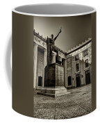 Tennessee War Memorial Black And White Coffee Mug
