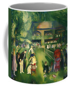 Tennis At Newport 1920 Coffee Mug