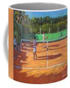 Tennis Practice Coffee Mug