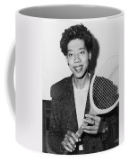 Tennis Star Althea Gibson Coffee Mug