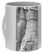 Tent Rocks Wall Coffee Mug by Steven Ralser