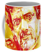 Terence Mckenna Watercolor Portrait.2 Coffee Mug
