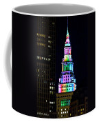 Terminal Tower Rainbow Coffee Mug