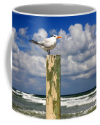 Tern On A Piling Coffee Mug