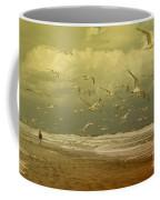 Terns In The Clouds Coffee Mug