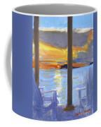 Terrace Sunset Coffee Mug