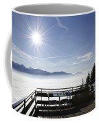 Terrace With Panoramic View Coffee Mug