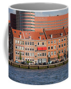 Terraced Houses In Rotterdam City Centre Coffee Mug