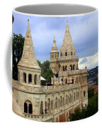 Terraces And Towers Of Fishermans Bastion Coffee Mug