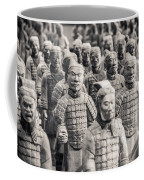 Terracotta Army Coffee Mug by Adam Romanowicz