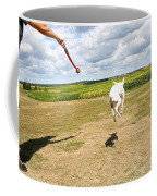 Terrier Levitation Coffee Mug