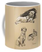 Terriers, 1930, Illustrations Coffee Mug