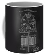 Tesla Coil Patent Art Coffee Mug