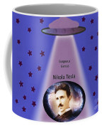 Tesla The Gorgeous Genius Coffee Mug